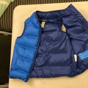 REI puffy vest toddler
